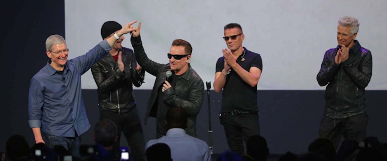 U2 lanceert album gratis via iTunes, wie profiteert?