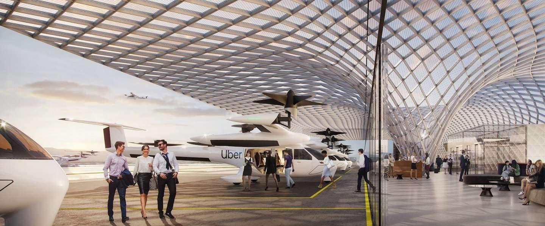 Een Uber Airport, zo ziet dat eruit