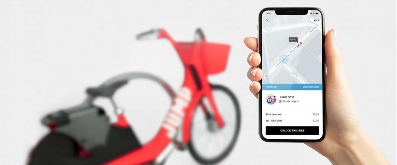 Uber fietst Europa in