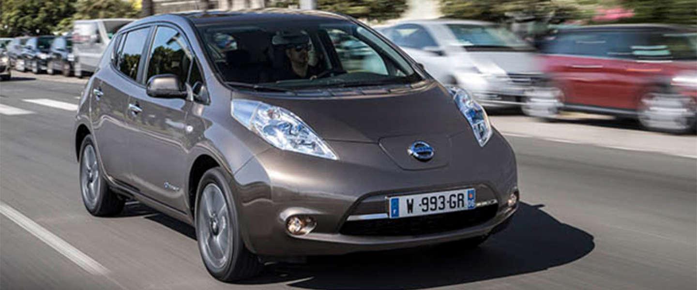 Uber, Nissan, Nuon & LeasePlan starten een pilot met elektrische auto's in Amsterdam