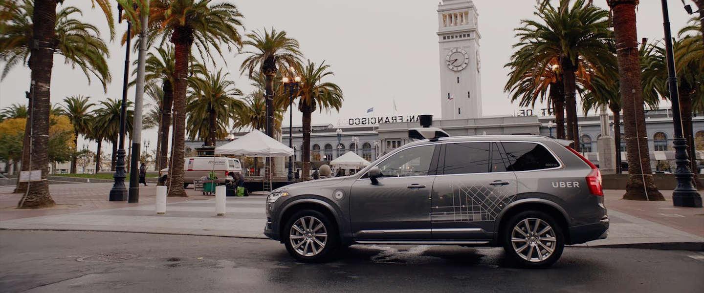 Uber komt (en gaat) met self-driving taxi's in San Francisco (Video)