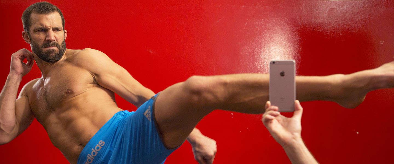 iPhone 6S versus UFC-vechter [video]