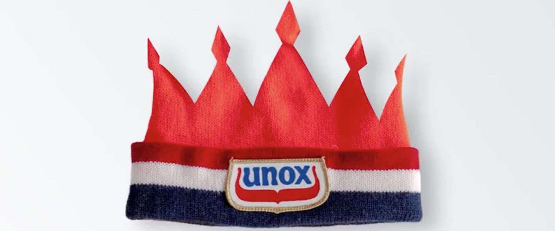 Speciaal voor Koningsdag: Een 'Unox-kroon' op Snapchat