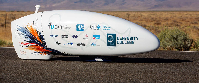 Human Power Team klaar voor het WK snelfietsen in de Nevadawoestijn