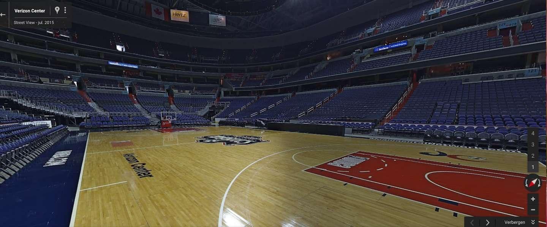 Nu ook een aantal grote Amerikaanse stadions in Google Street View