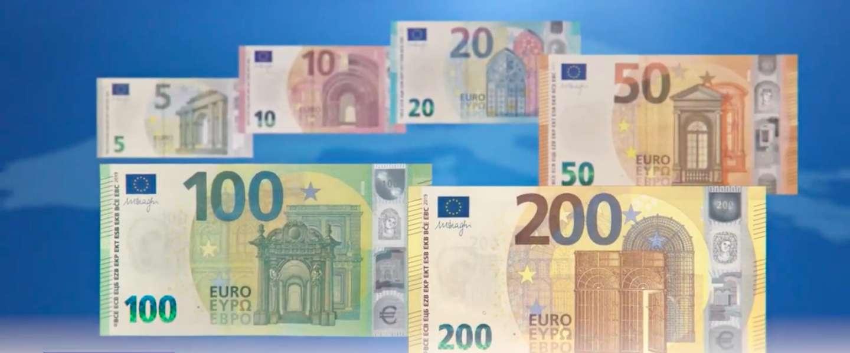 Nieuwe €100- en €200-bankbiljetten in omloop