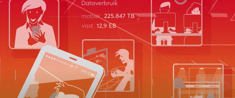 VodafoneZiggo rolde 5G uit en zag netwerkverkeer fors stijgen