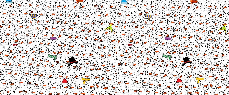 De panda vinden in deze puzzel is moeilijker dan je denkt!