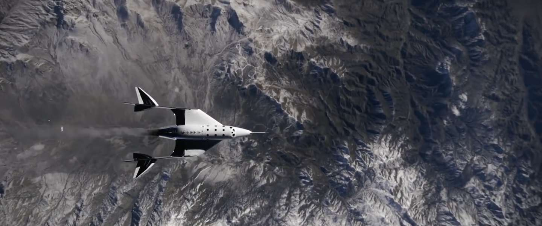 Eerste passagier Virgin Galactic in de ruimte