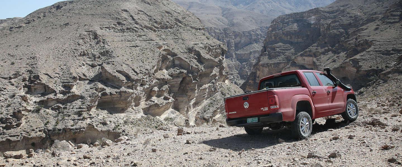 Oman, de ultieme plek om de nieuwe Volkswagen Amarok te testen