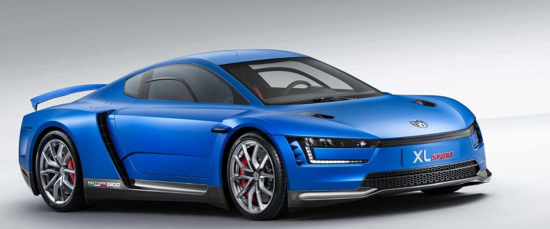 Radicale en supersnelle Volkswagen XL-sport met hightech Ducati-motor