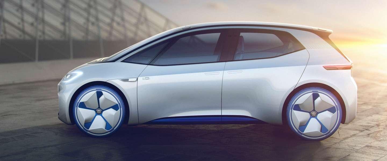 Volkswagen I.D. concept auto rijdt zelf én neemt post aan