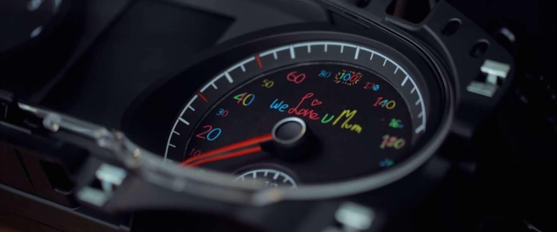 Volkswagen wil bestuurders veiliger laten rijden met een speciaal dashboard