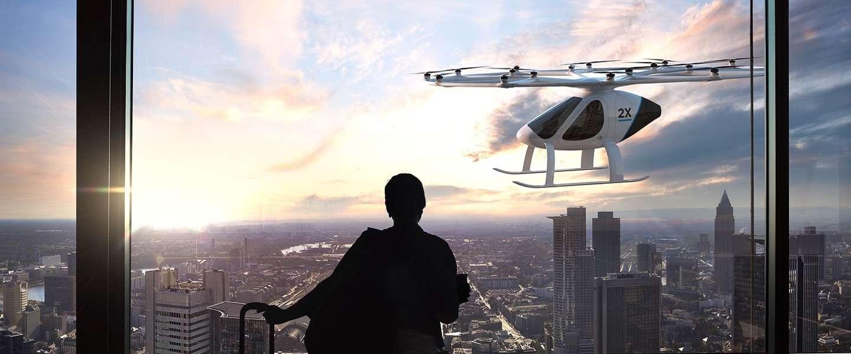 De eerste drone-taxi van Dubai is deze week getest