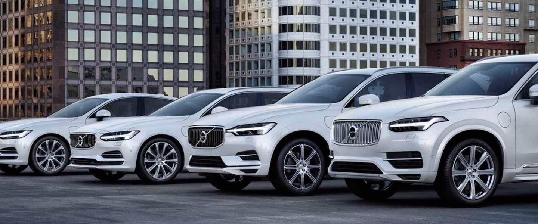 Alle Volvo's vanaf 2019 zijn elektrische auto's