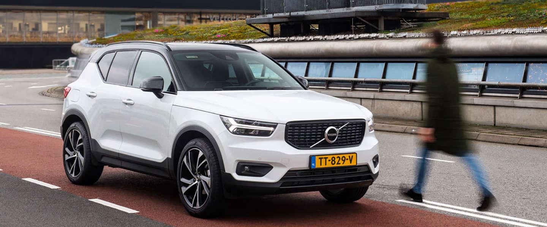 Reizigers op Schiphol ervaren de Volvo XC40 in Augmented Reality