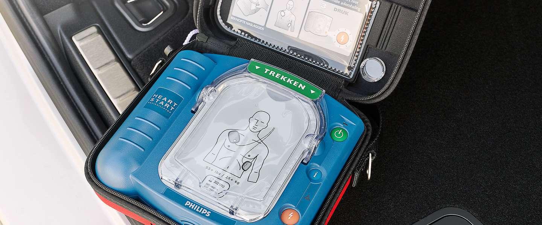 Volvo introduceert Volvo Lifesaver: de meest mobiele AED van Nederland
