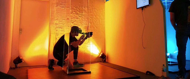 Lasergamen in Virtual Reality, het kan al in Utrecht