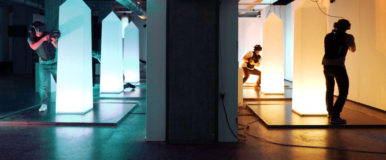 Levensecht lasergamen en een VR Escape Room in Amsterdam
