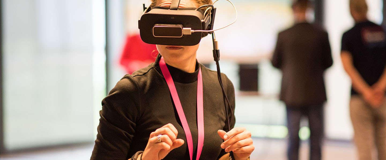 Virtual Reality in hartje Amsterdam