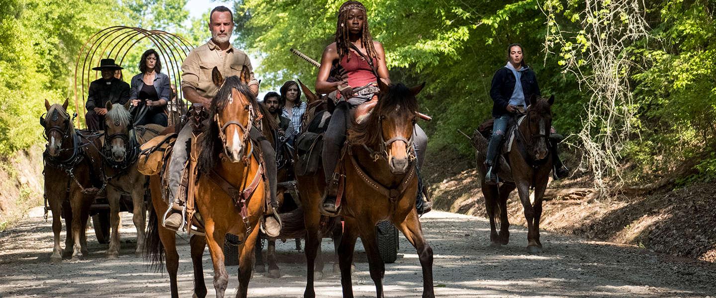 The Walking Dead is de meest illegaal gedownloade serie van 2018