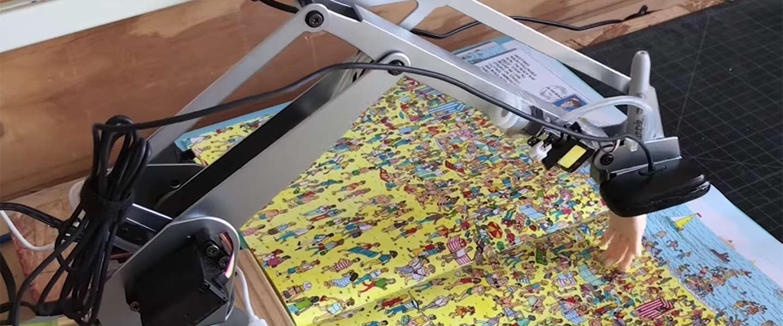 Deze robot kan Wally wél vinden!
