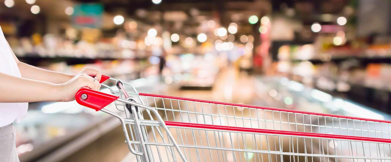 Waze app voor in de supermarkt