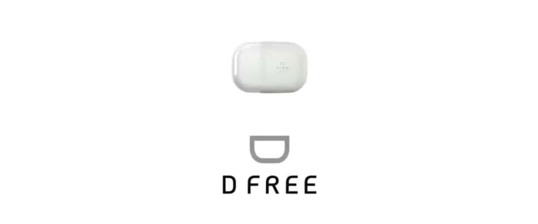 D Free vertelt je wanneer je naar de wc moet