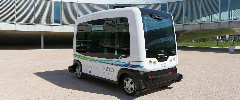WEpod: het eerste zelfrijdende voertuig op de openbare weg