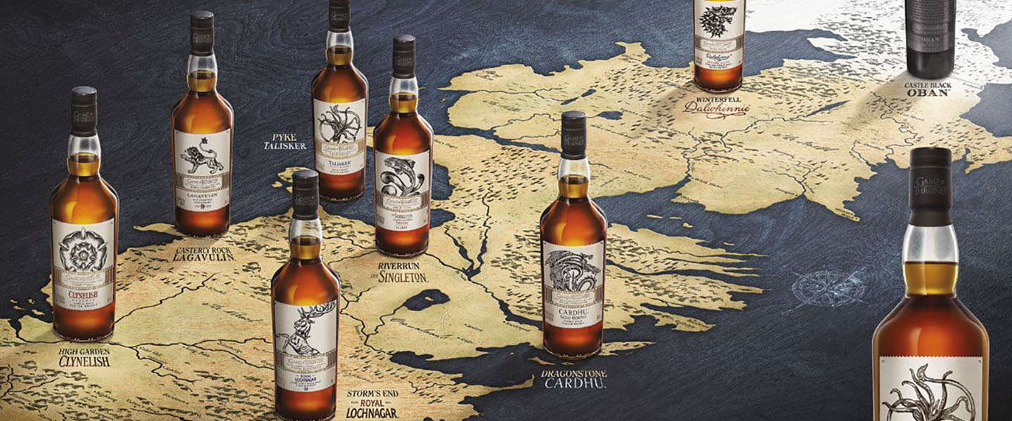 ​Drink de whisky's van je favoriete Game of Thrones huizen