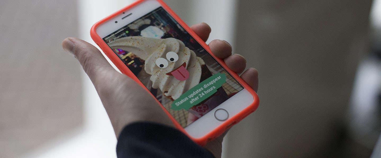WhatsApp komt met nieuwe en verbeterde statusfunctie