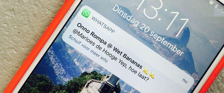 Je kunt nu mensen taggen in groepsgesprekken op WhatsApp