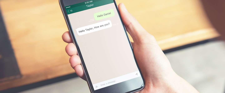 WhatsApp gaat vinkjes geven aan geverifieerde bedrijven