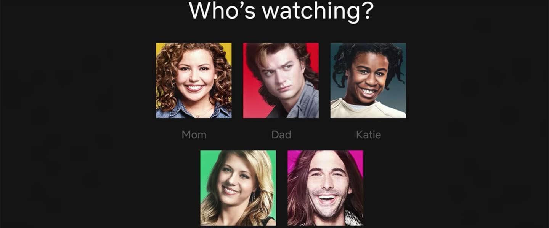 De profiel icoontjes op Netflix krijgen een make over