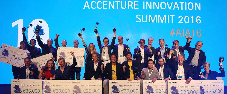 Winnaars Accenture Innovation Awards 2016 bekend