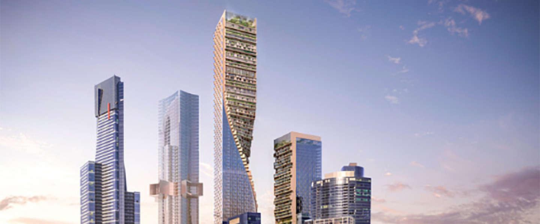 Dit gebouw wint de wolkenkrabber-competitie in Melbourne