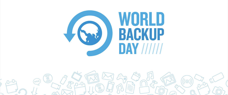 Vandaag is het World Backup Day