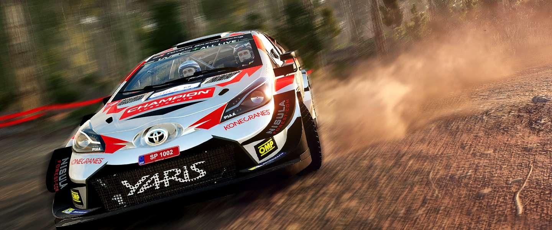 WRC 8 ligt nu in de winkels