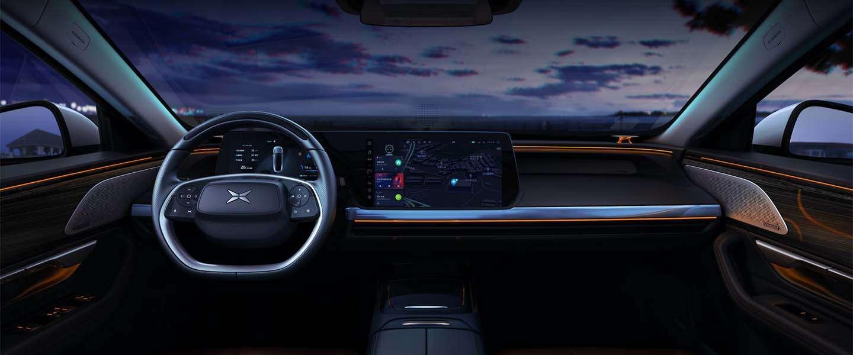 XPeng P7 krijgt Surrounding Reality Display voor autonoom rijden