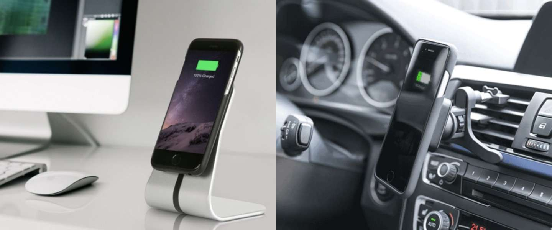 XVIDA: draadloze magnetische smartphone oplader