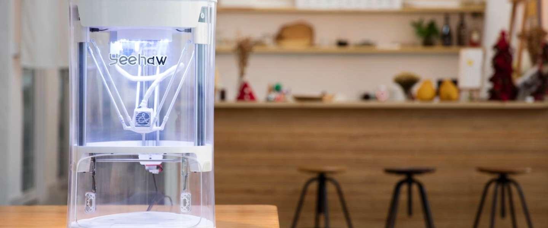 De Yeehaw is een 3D-printer voor kinderen met maakdrang