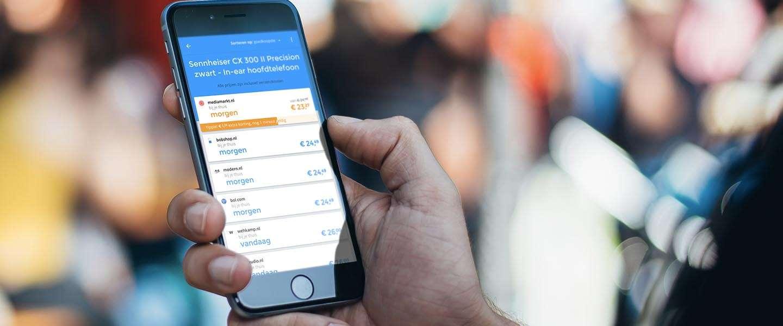 Nieuwe shopping app laat winkels bieden op vraag van consument