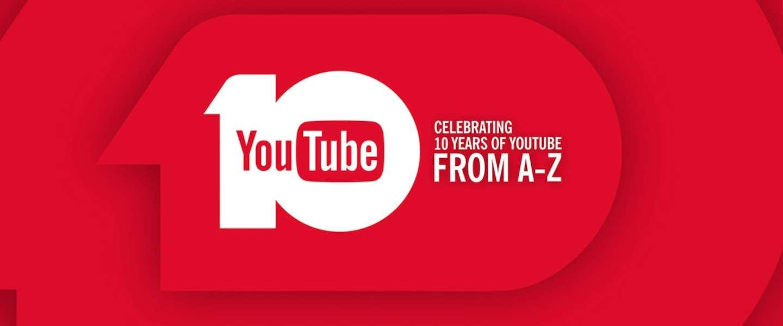 Infographic: 10 jaar YouTube