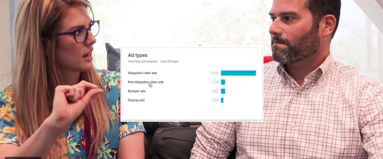 De tijd van YouTube-advertenties doorklikken is bijna voorbij