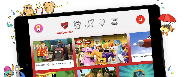 YouTube Kids vanaf vandaag in Nederland beschikbaar