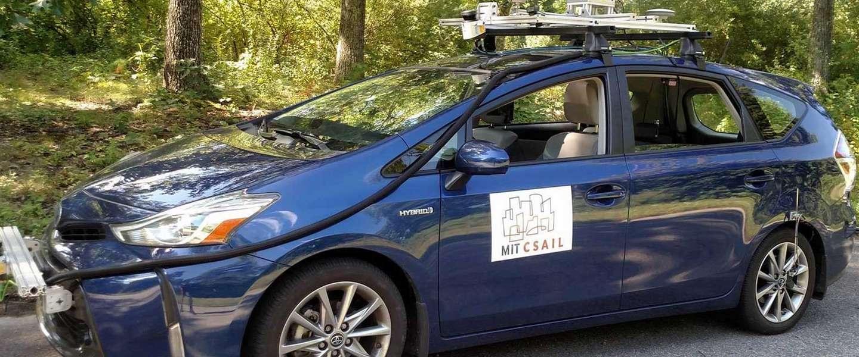 MIT heeft zelfrijdend autosysteem dat zonder kaart kan rijden