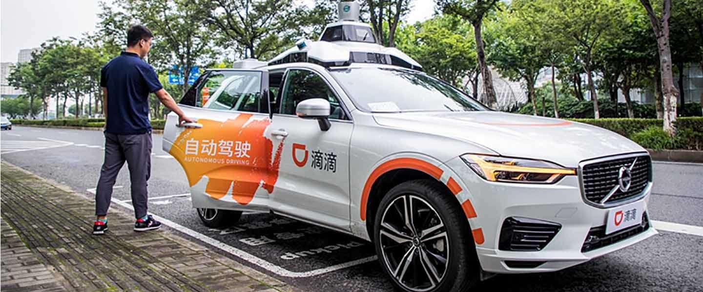 Didi's lanceert robotaxi's in Shanghai