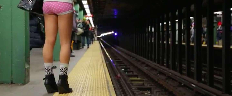 No Pants Subway Ride wereldwijd steeds populairder