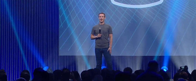 De aankondigingen van Facebook tijdens de F8 conferentie