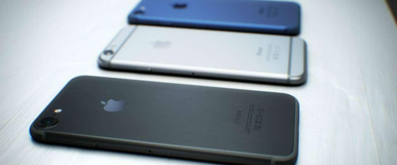 Komt er een zwarte iPhone 7?